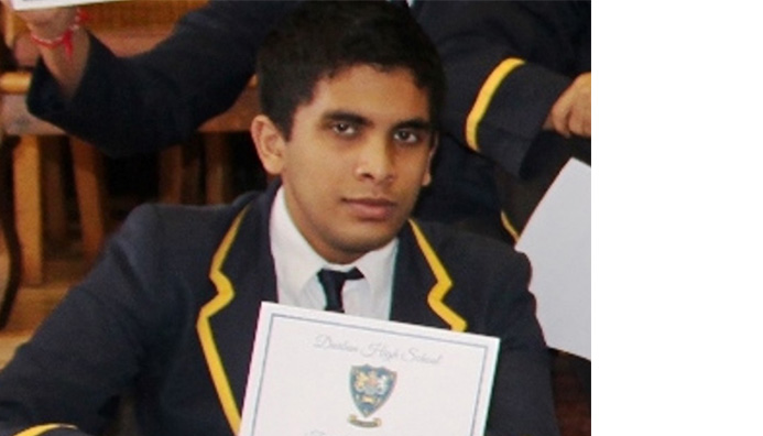 3rd in SA in Maths!