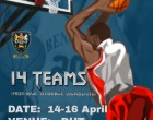 DHS Easter Basketball Tournament : 14 to 16 April
