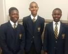Lianda Ngcobo, Jazmin Stapeflfeldt and Simba Sibanda