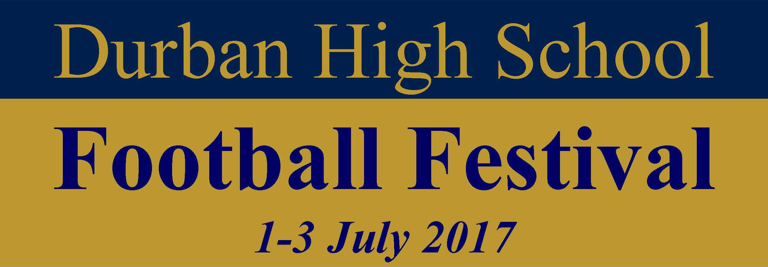 DHS Football Festival