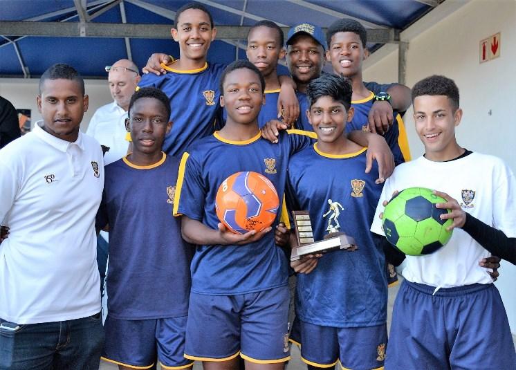 DHS U16 Winners of 5-a-Side Challenge
