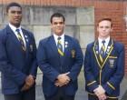 Head Prefects for 2018! Celimpilo Gumede (Deputy), Zakariya Adam (Head Prefect) and Ethan Mack (Deputy)