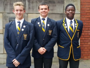 Head of Blackmore House: Donovan Adam House Prefects: Martin Mugoni and Tiagan Terreblanche