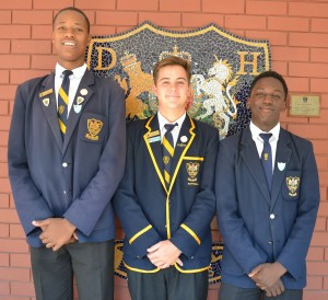 Head of Grice House: Cameron Diedricks House Prefects: Lutho Ndamase and Sikhumbuzo Sithole