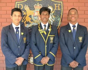 Head of Swales House: Santhiran Pillay House Prefects: Devash Ishwarlall and Seitlheko Ntsebe