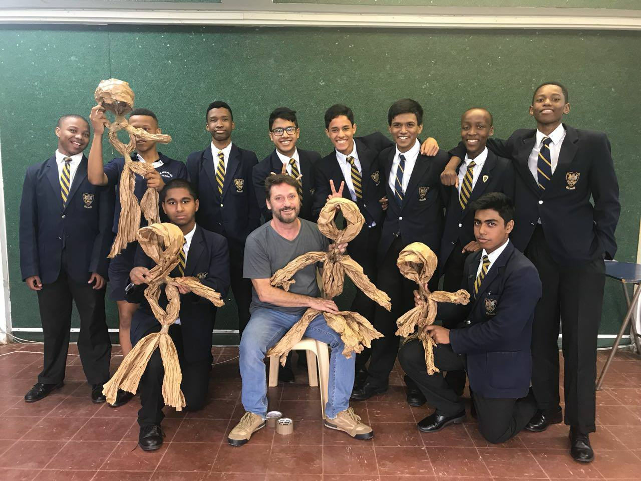 Peter Court in Puppetry – A Performing Arts Elective Workshop