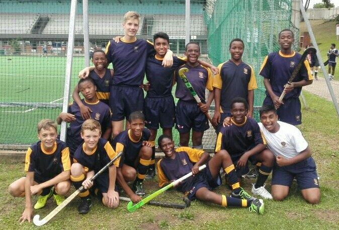 DHS 14 Hockey Undefeated at Westville Festival!