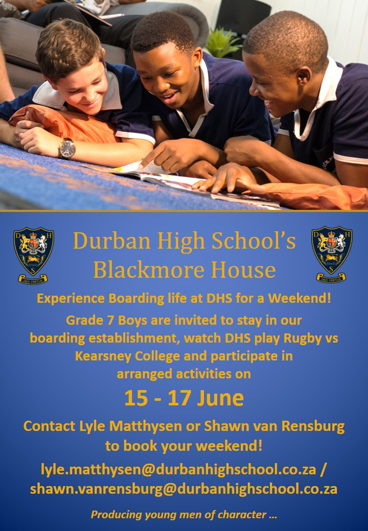 Experience Life at Blackmore House!