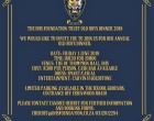 The DHS Foundation Old Boys Dinner : 1 June
