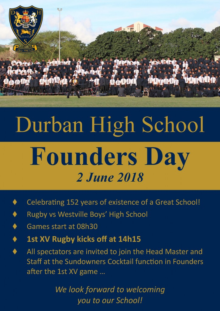 Founders Day Flyer 2018