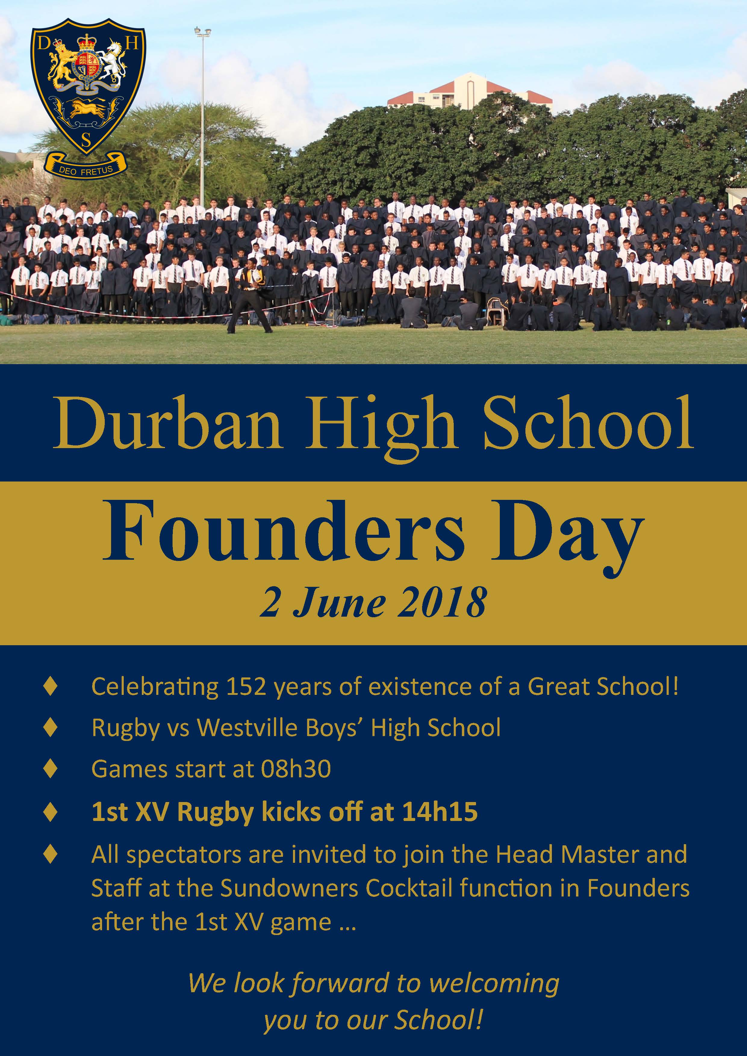Founders Day : 2 June 2018