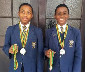 Awande Ndlovu and Londa Zungu