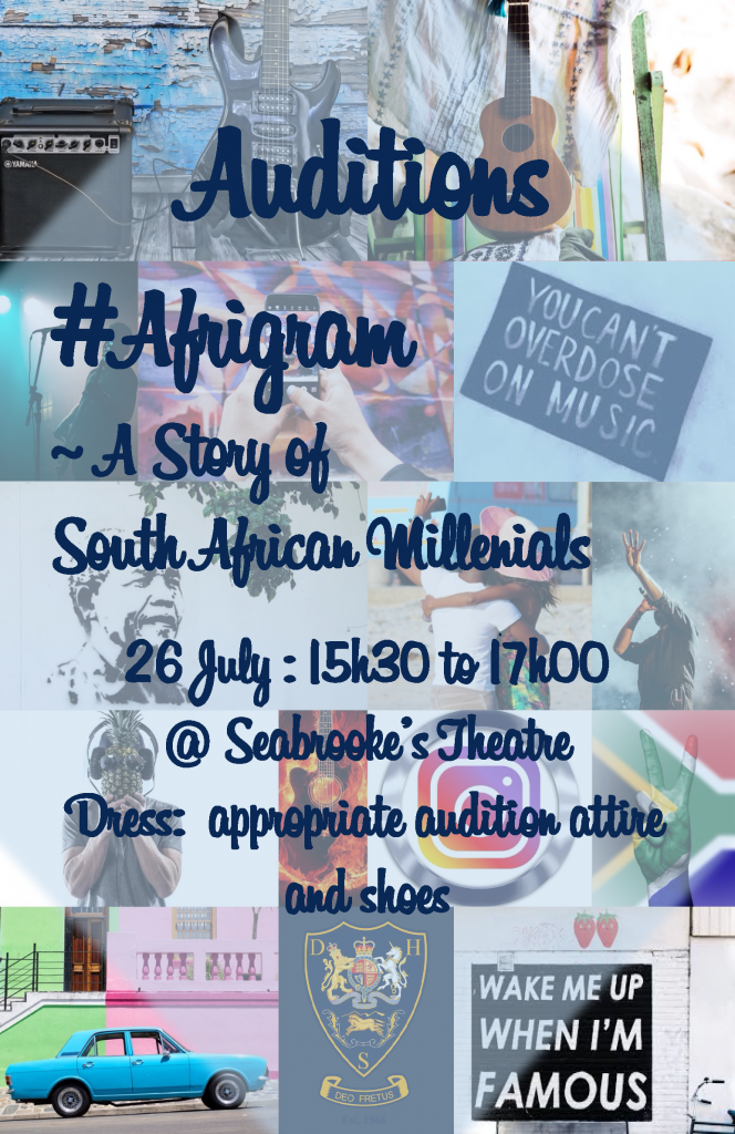 AfriGram Audition Poster