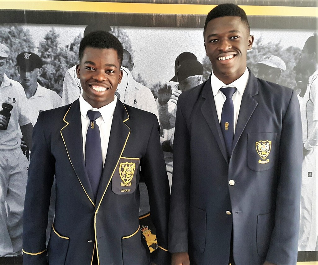 Tinashe Nenhunsi (left) and Rodney Mapfudza