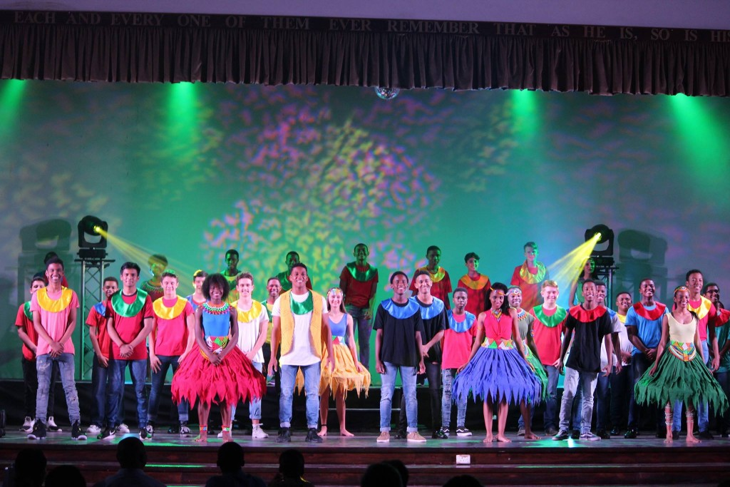 #AfriGram, the School production, also beneffited enormously from the new sound and lighting.