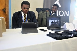 School Enterprise Challenge Elective - Awande and Luyanda, were winners of the Most Innovative Business award
