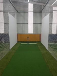 Indoor Cricket Centre Upgraded