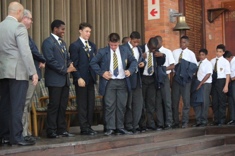 Grade 8 Bell Ringing Ceremony