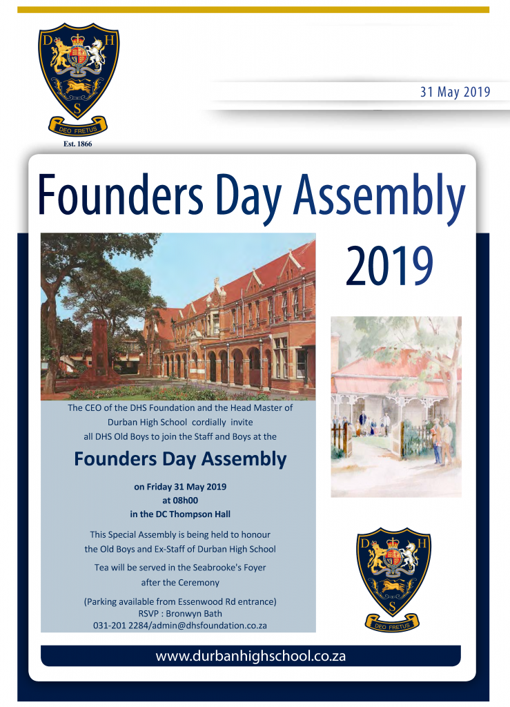 Founders Day Assembly 2019
