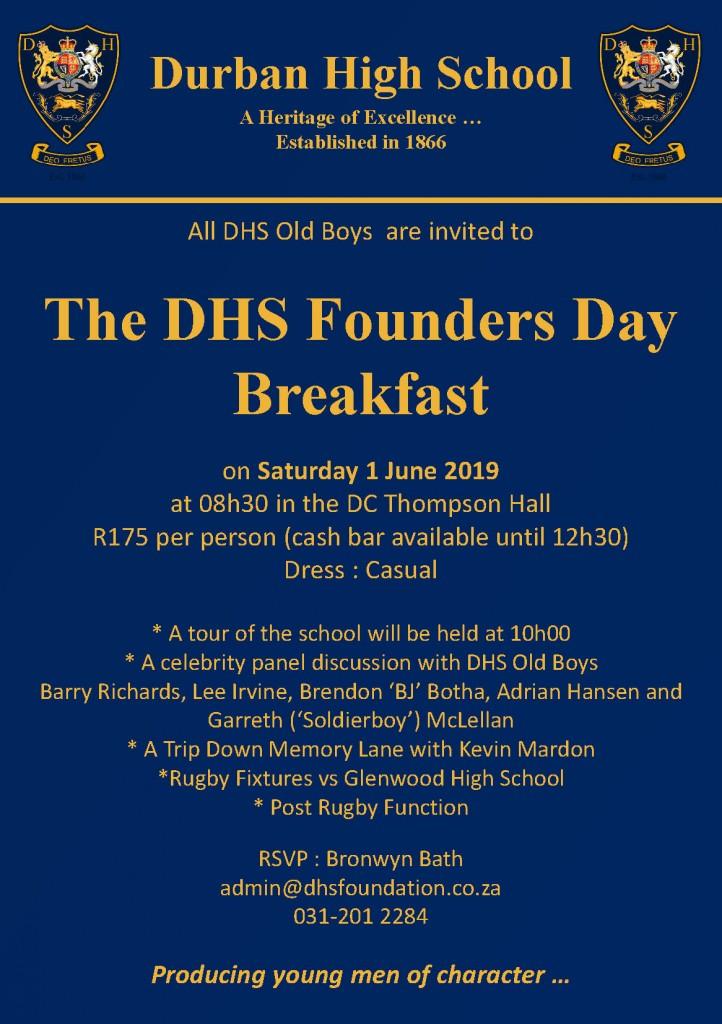 Founders Day Breakfast 2019 Final