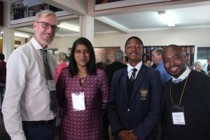Ian Lewis, Saloshana Nagiah, Mpho Ndaba, Sandile Cele