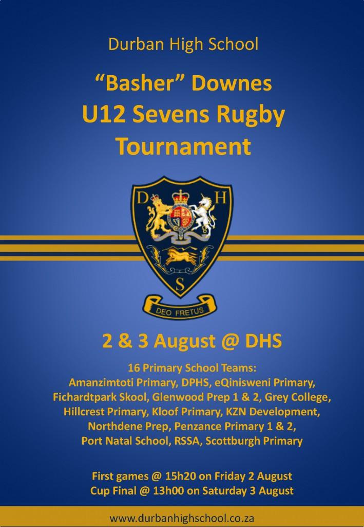 U12 Sevens Rugby Poster 2019