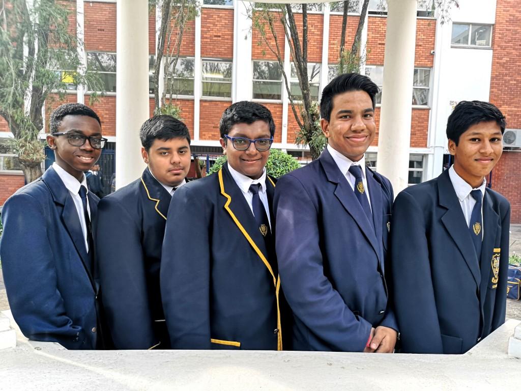 Top 5 in Grade 11
