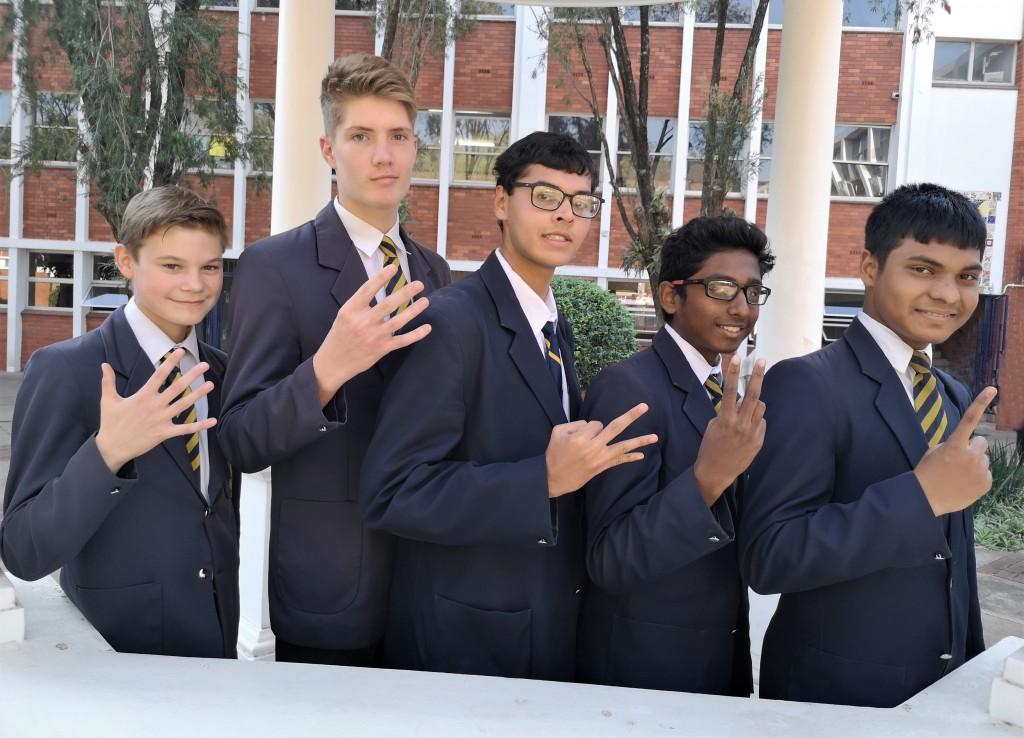 Top 5 in Grade 9