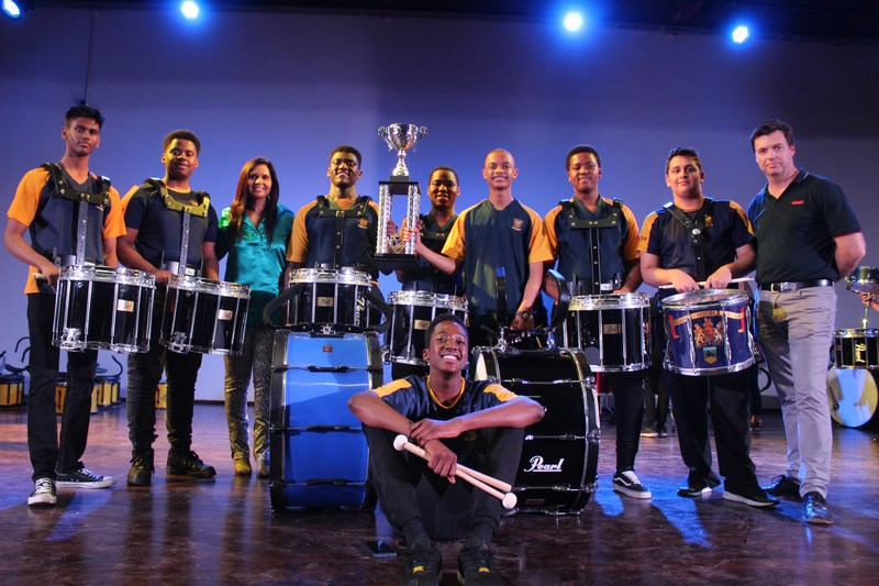 DHS Drumline win the KZN Drumline Competition