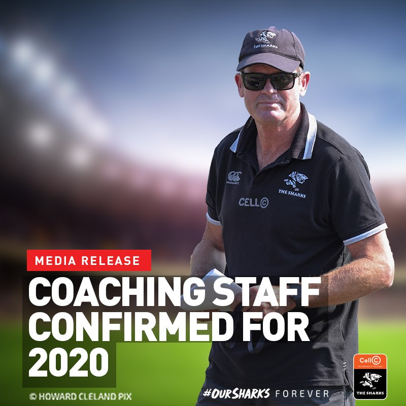 Mr Sean Everitt has been appointed Head Coach of the Sharks
