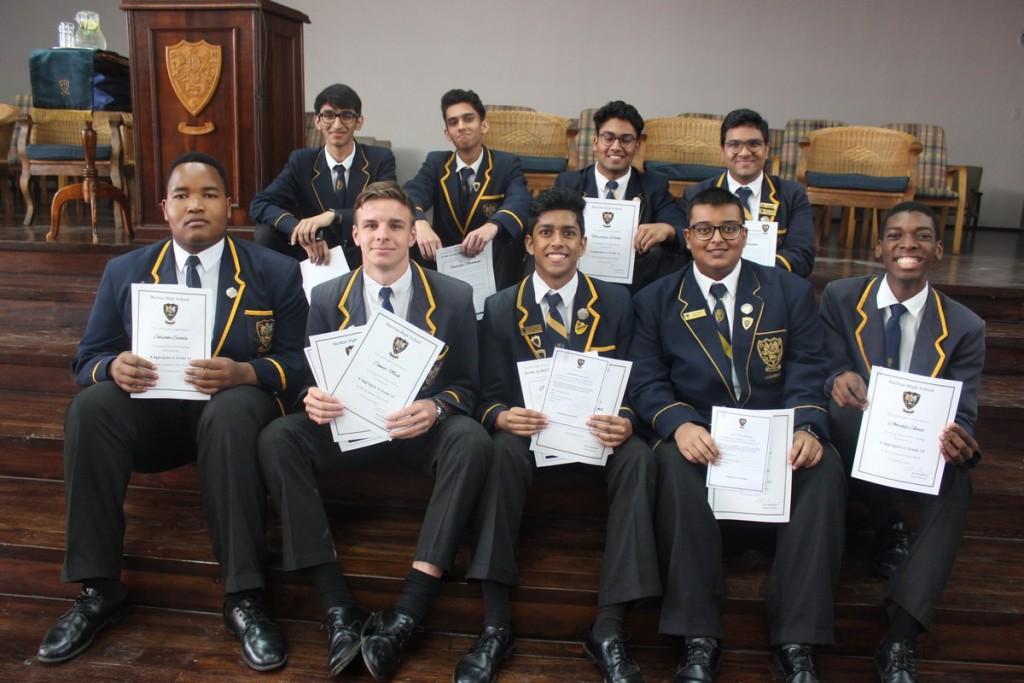 Merit Certificate Award Winners