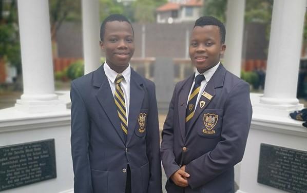 Durban Youth Choir - Obakhe Delumbom and Sandise Cezula