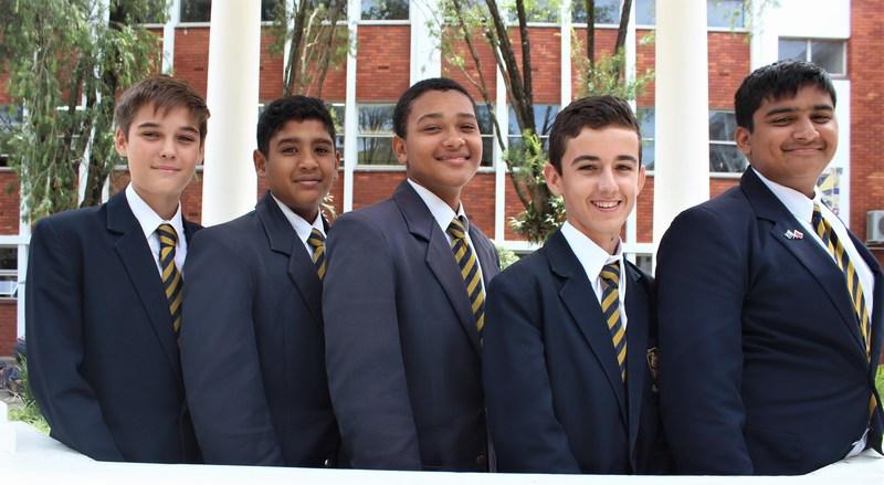 Top 5 in Grade 8