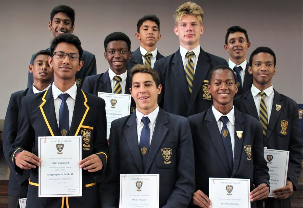Grade 10 Prize Winners