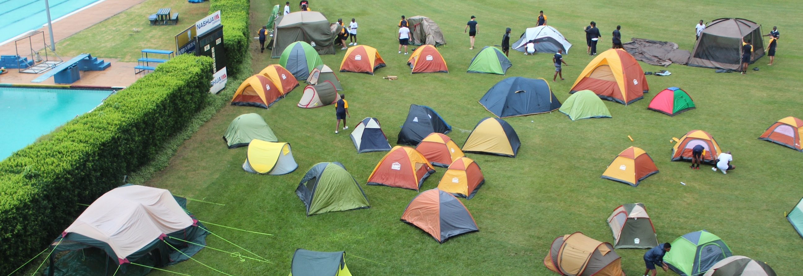 Grade 8 Camp Out