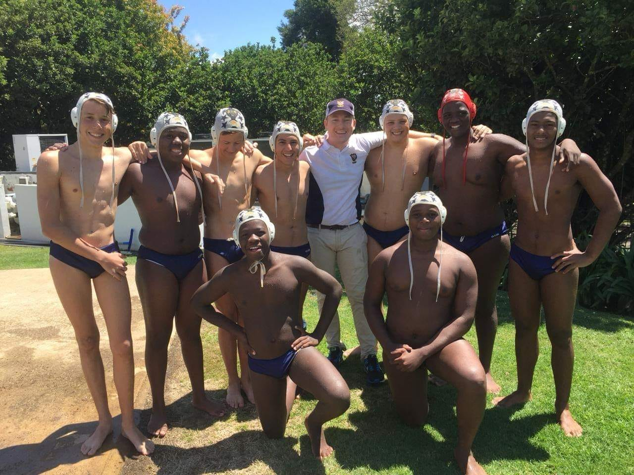 U15A Water Polo Team