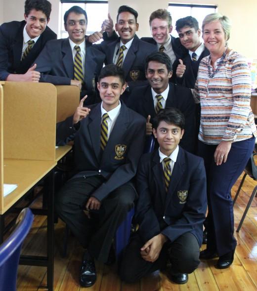 The first 8 Cambridge Boys