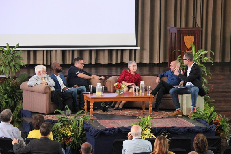 First Panel Discussion - Graham Bell, Sdu Mncwango, Marc Hardwick, Anthea Cereseto, Luke Lamprecht, Peter Watt