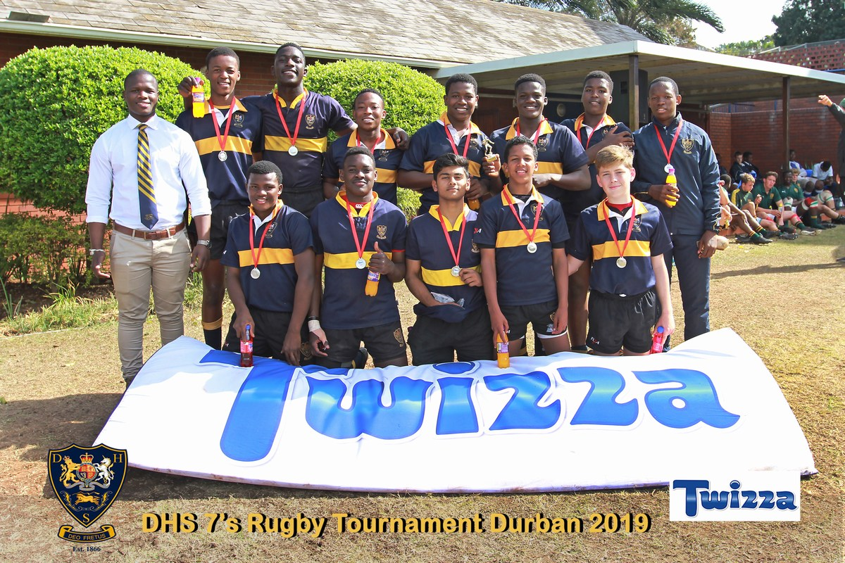 DHS U15A 7s Rugby Team - Winners of the Bowl Final