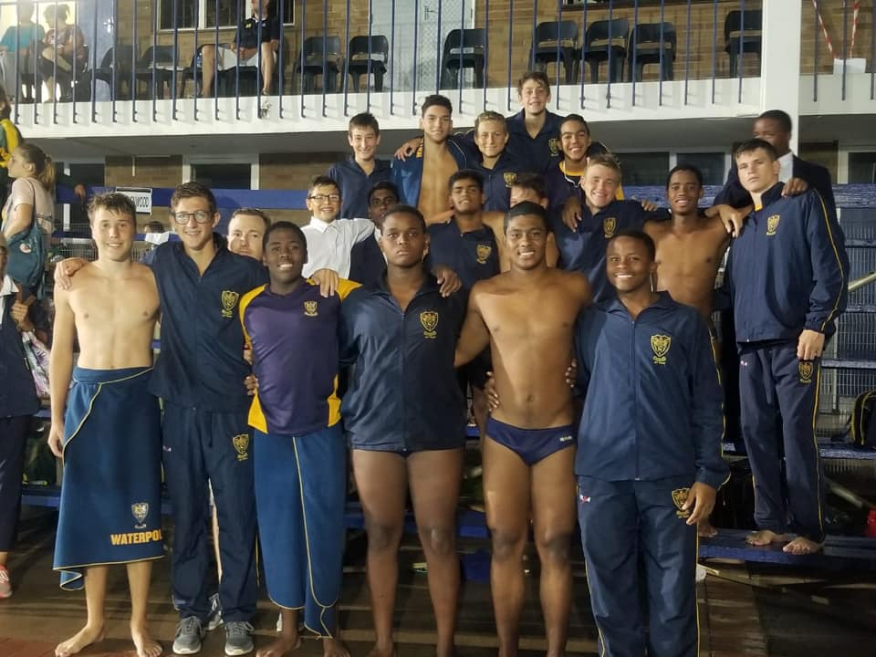 Swimming Team at the Westville Gala