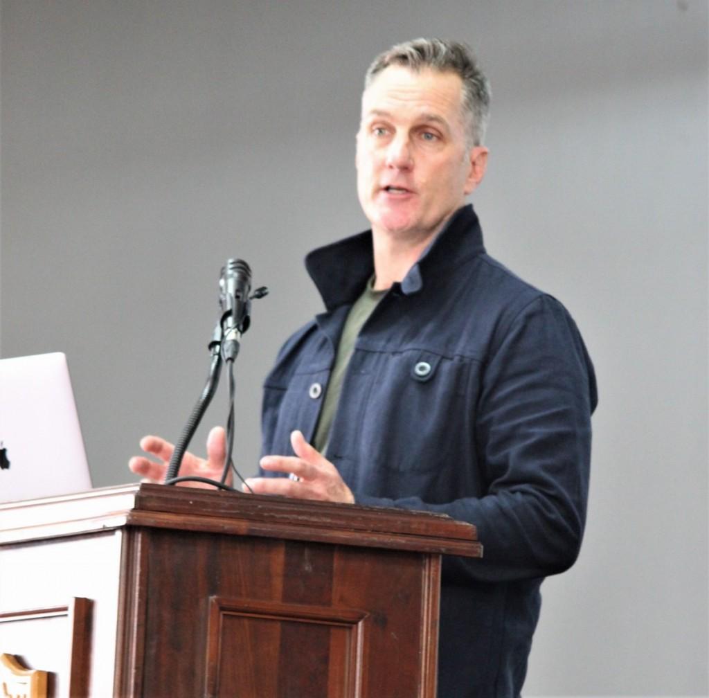 Guest Speaker, Roger Horrocks