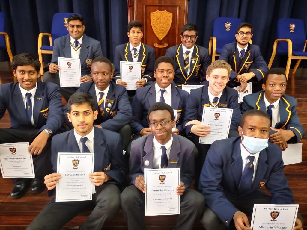 Subject Prize Winners